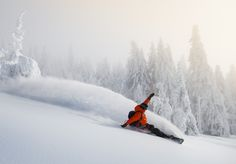 Josh Dirksen lays down one of his signature turns in the Southern Oregon backcountry. Oregon, Southern, Action, Adventure, Mountains, Sports, Photography, Travel, Outdoor
