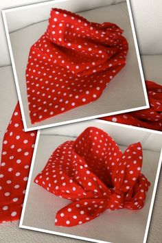 Dog Bandana - Red with White Polka Dots we are loving doggy bandanas . are you a bandana lover we know you are steve and jan xx