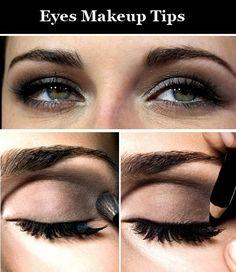 Eye makeup tips.