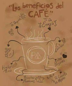 Los beneficios del cafe