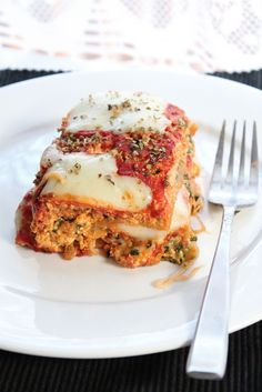 Vegetarian lasagna...for when my vegitarian brother and family visits