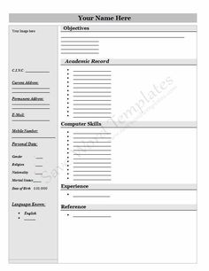 free download resume templates word 1053 httptopresumeinfo