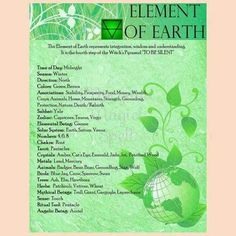 Element Earth:  Element of #Earth.