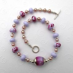 Glass bead jewelry....simple and pretty
