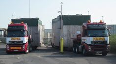 2 abnormal loads delivered by KINGS heavy haulage Southampton docks July 2013 3