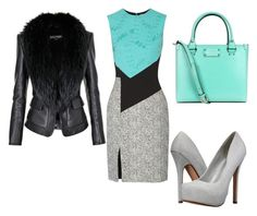 """""""634"""" by ado-duda ❤ liked on Polyvore featuring Prabal Gurung, Call it SPRING, Kate Spade and Balmain"""