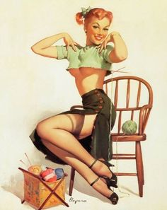 by ElvgrenVintage Pin-ups Girls