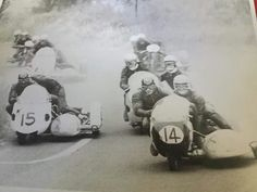 Motorcycle sidecar race