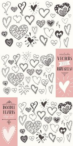 Doodle Hearts Clip Art by marie Related posts: Doodle Words Clipart Clip Art, Typography Word Subway Art Clip Art Clipart. Love Doodles, Little Doodles, Happy Doodles, Heart Clip Art, Heart Art, Doodle Drawings, Easy Drawings, Clipart, Heart Doodle