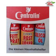 Top Home Brands: Centralin силиконов спрей, спрей против ръжда и сп...