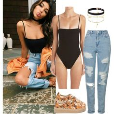 Madison beer inspired outfit by candyapplequeen on Polyvore featuring Topshop…