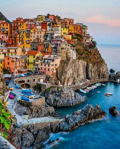 Manarola and 10 More Beautiful villages in Italy to visit. Explore these small Italian towns off the beaten path from the Amalfi Coast to Cinque Terre . these beautiful destinations belong on your Italy itinerary Places To Travel, Places To See, Travel Destinations, Tickets To Italy, Cinque Terre, Cities In Italy, Places Around The World, Small Towns, Dream Vacations