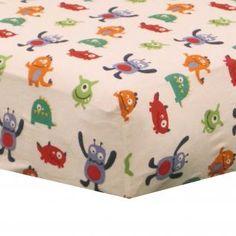 boys monster bedding | ... Monsters Cheap Baby Boys 4P Alien Nursery Crib Bedding Set | eBay
