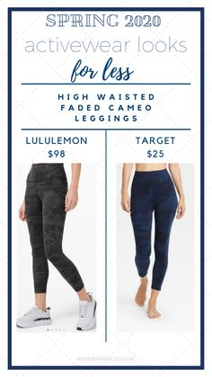 Spring 2020 Activewear Looks for Less — barreALLEY: your virtual barre studio