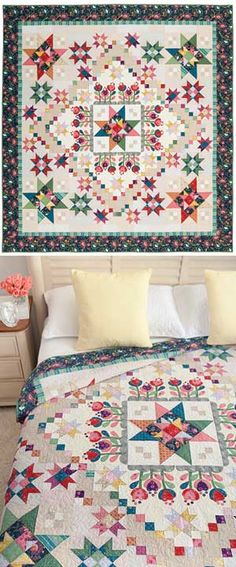 COLOR LOVE BLOCK OF THE MONTH QUILT
