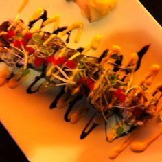 Red dragon sushi roll