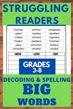Help for Struggling Readers Strategies for Grades 3-8