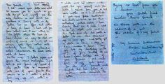 Ten-year-old Anne Frank writes to Juanita Wagner in Iowa: Experts believe this is the only surviving letter written by Anne Frank in English. The three-page letter is transcribed below.