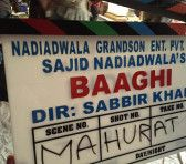 #Baaghi starring #TigerShroff and #ShraddhaKapoor has gone on floors from today.