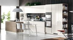 Cuisine contemporaine Scenery | Scavolini site officiel
