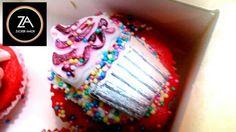 Cute Cupcake  #red #velvet #cupcake #ZuckerAmor