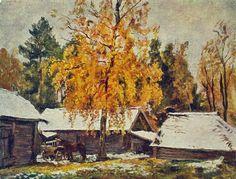 Pyotr Konchalovsky The first snow