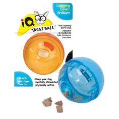 Brinquedo Bolinha Interativa com Comedouro para Cães IQ Treat Ball - Our Pets - Petshop