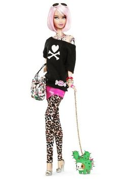 Barbie Collector # T2155 Tokidoki Mattel http://www.amazon.fr/dp/B004WLXR94/ref=cm_sw_r_pi_dp_Vknxwb17S0TT3