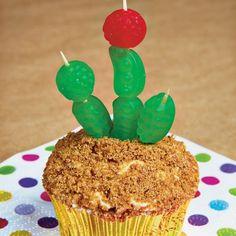 wild west cactus cupcakes