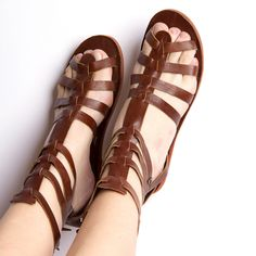 Gladiator Womens Brown