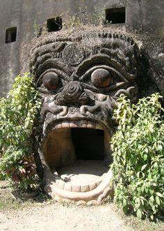 Wat Xieng Khuan, Vientiane, Laos