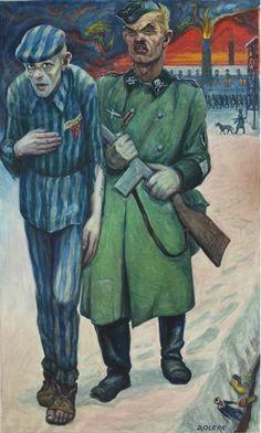 Una pintura de un prisionero de Auschwitz, donada al museo del campo de concentración | 20minutos.es