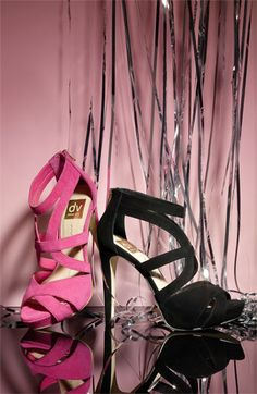 Pink or Black?  Love the Strappy Pumps