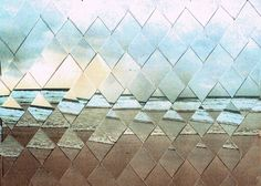 experimentation by beautifully.negative, via Flickr. they took two copies of a picture, cut them in strips and then began to weave.