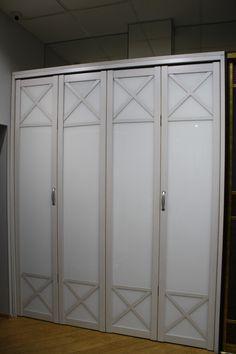 Немецкий профиль Holtz . Складные двери .  www.garderobov.com