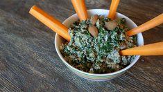 Artischocken, Oliven und Spinat bilden die Grundlage für diesen gesunden Artischocken Dip, der toll als Aufstrich ist. Passt zu Süßkartoffeln und Gemüsesticks.
