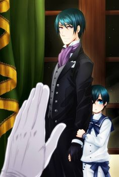 Vincent and Ciel Phantomhive