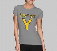 375th Street Y TShirt  Women's TShirt  Royal Tenenbaums by Yipptee, $21.99