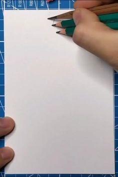 3d Art Drawing, Art Drawings For Kids, Art Drawings Sketches Simple, Pencil Art Drawings, Easy Drawings, Art 3d, Drawing Ideas, Art Drawings Beautiful, Diy Canvas Art