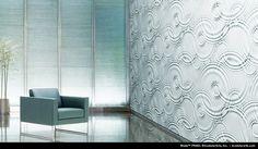 Wade Collection by modularArts.     Wall material- no plastic, no VOC's, and no urea-formaldehyde.