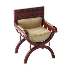 Renaissance Cross Frame Chair