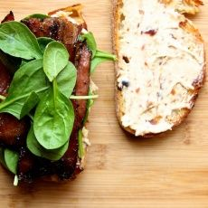 Coffee Bacon Sandwiches | Joy the Baker