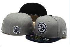 New Era NFL Topp'd Up Denim 59FIFTY Cap And Hats Pittsburgh Steelers Fitted Hats