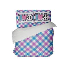 Kids Preppy Comforter with Peace Sign Pillowcases from Kids Bedding Company Toddler Comforter Sets, Queen Size Comforter Sets, King Size Comforters, Kids Bedding Sets, Purple Comforter, Blue Bedding Sets, Preppy Bedding, Dorm Room Comforters, Bed Company