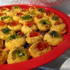 Savory Thumbprint Cookies