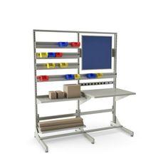 Assembler Modular Workstations #industrialfurniture #industrial #desks #industrialworkbench #industrialworkstations