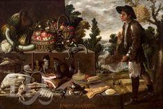 Verano, de Francisco Barrera. Año 1638 Sala VI del Museo de Bellas Artes de Sevilla