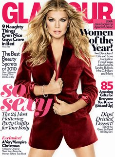 Fergie, Glamour Magazine [United States] (December 2010)