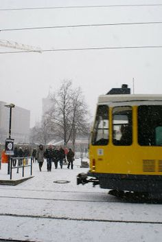 trams in Berlin (here: Aleaxnderplatz)