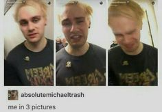 Michael Clifford in 3 pictures.